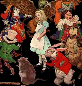 """Alice in Wonderland"". Licensed under Public Domain via Commons - https://commons.wikimedia.org/wiki/File:Alice_in_Wonderland.jpg#/media/File:Alice_in_Wonderland.jpg"
